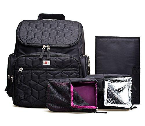 Large capacity Diaper Bag , Waterproof Baby Changing Bag for