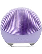 FOREO Luna Go Portable and Personalized Facial Cleansing Brush with Anti-Aging for Sensitive Skin, 122g