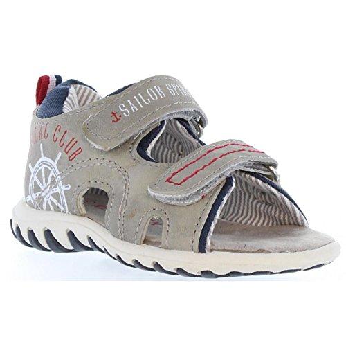 Sandales pour Garçon URBAN 315662-B1080 L GREY-L NAVY
