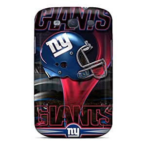 AnnaDubois Samsung Galaxy S3 Excellent Hard Phone Cover Support Personal Customs High-definition New York Giants Skin [BqT13011FDNn]