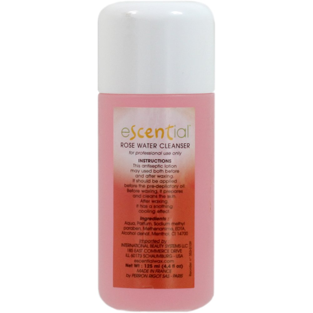 Escential Cleanser, Rosewater, 0.3 Ounce