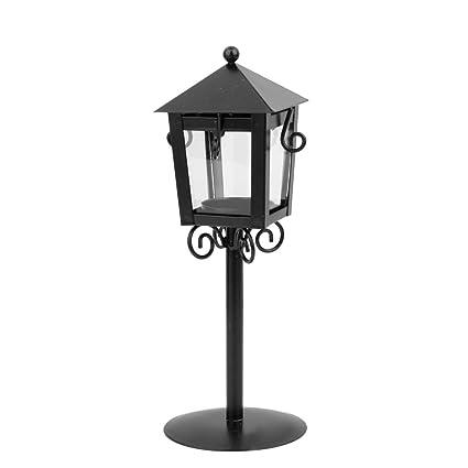 amazon com vintage street lamp candle holder tea light candlestick