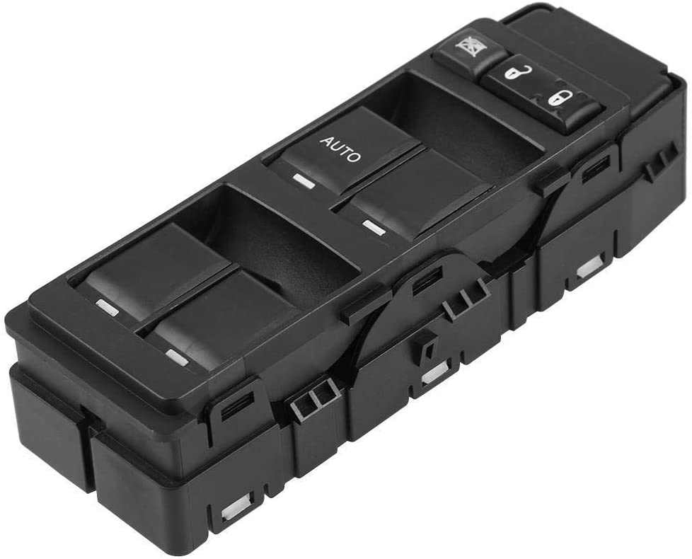Voiture /électrique Power Master Fen/être Commutateur Compatible avec Jeep Patriot Compass Dodge Caliber 2007 2008 2009 2010 OE 56040691AD 56040691AB 56040691AC Master Control Switch