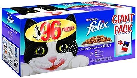 Felix adulto umidi per gatti cibo in busta - 96 Pouches