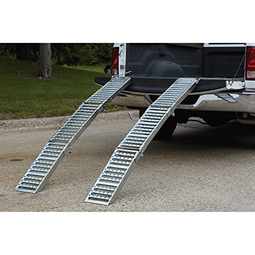 Ultra-Tow Folding Arched Steel Loading Ramps- 6ft 1,000-Lb. Load Capacity (Pair) - Buy Online in ...