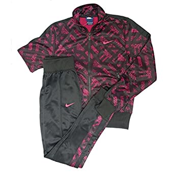 Nike Polyknit Cuffed TS AOP - Chándal para Mujer, Color Fucsia ...