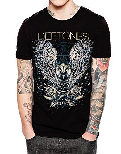 Deftones American alternative metal band Black T Shirt,Sleeveless,Hoodie (XX-Large Chest 25