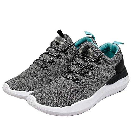 Cunei Delle Sneaker Della Piattaforma Fashion Fashion Drake Coolway Grigio