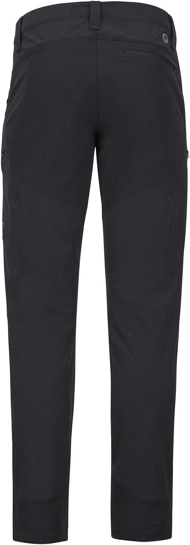 Transpirable Pantalones de Senderismo Marmot Limantour Pant Pantalones Monta/ña Softshell Repelente al Agua Hombre