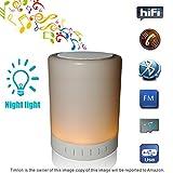 Bauhn Bluetooth Speaker Best Deals - Timlon Wireless Bluetooth Speaker with Stereo Sound and LED Light - White