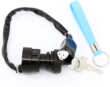 QAZAKY Ignition Key Switch For Polaris Big Boss Diesel Magnum Outlander Outlaw 325 330 400 450 455 500 525 4012163 4110264
