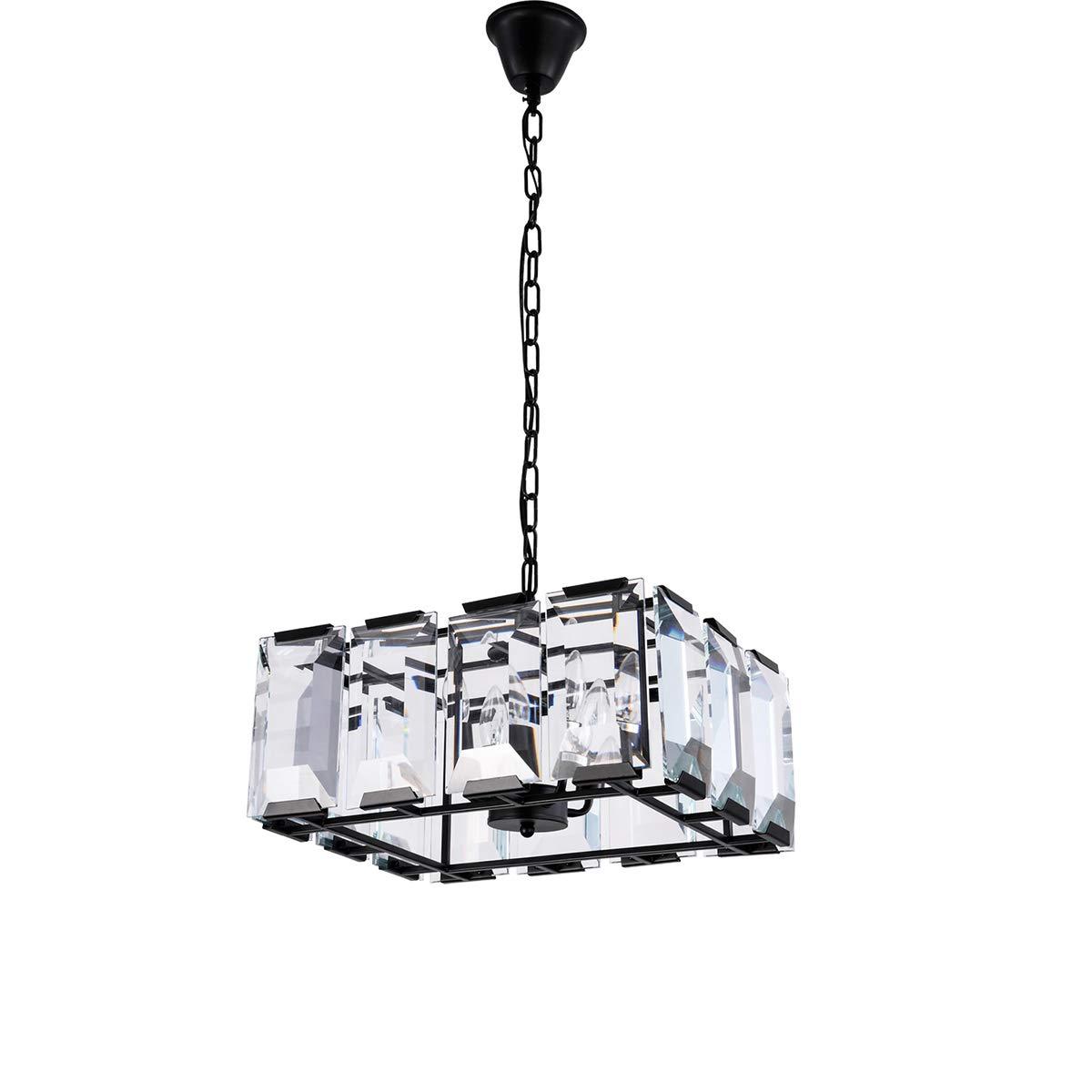 照明ランプ LED 食堂の居間のための贅沢な現代/現代的な水晶シャンデリアの天井灯の吊り下げ式ライト LEDライト (色 : 冷たい白, サイズ : AC 220V) B07PW6C593 冷たい白 AC 220V