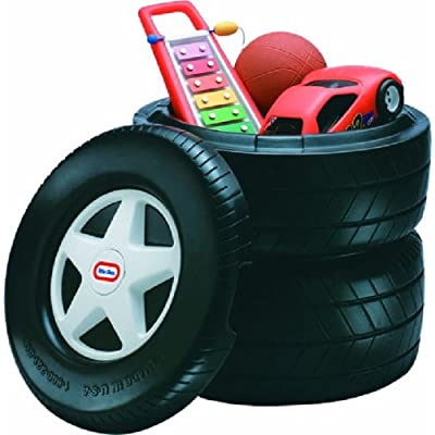 Little Tikes Classic Racing Tire Toy Chest: Toys & Games