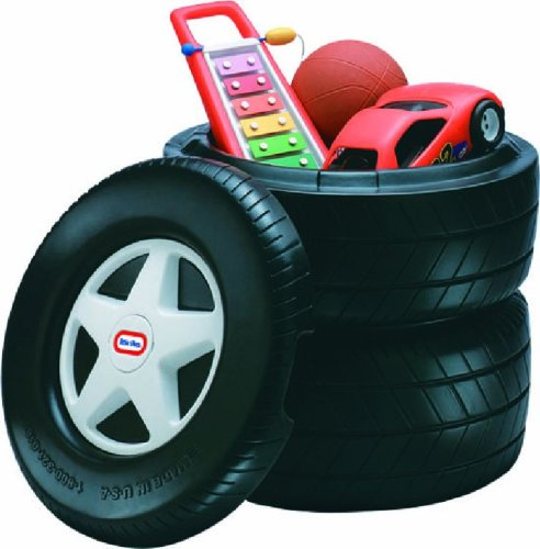 Little Tikes Classic Racing Tire Toy Chest (Chest Toy Tire)