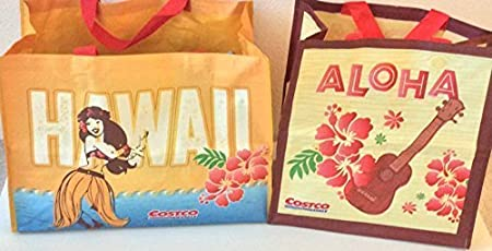af02f76e21c Image Unavailable. Image not available for. Colour  2 Costco Hawaii Reusable  Eco Friendly Shopping Bags ...