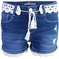 WallFlower Girls Soft Strech Denim Shorts