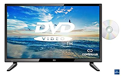 "32"" LED HDTV with Built-in DVD Player by Continu.us 
