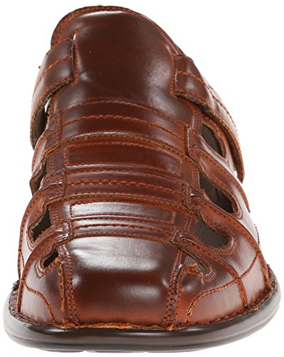 Stacy Adams Mens Belmar Pescatore Sandalo Cognac
