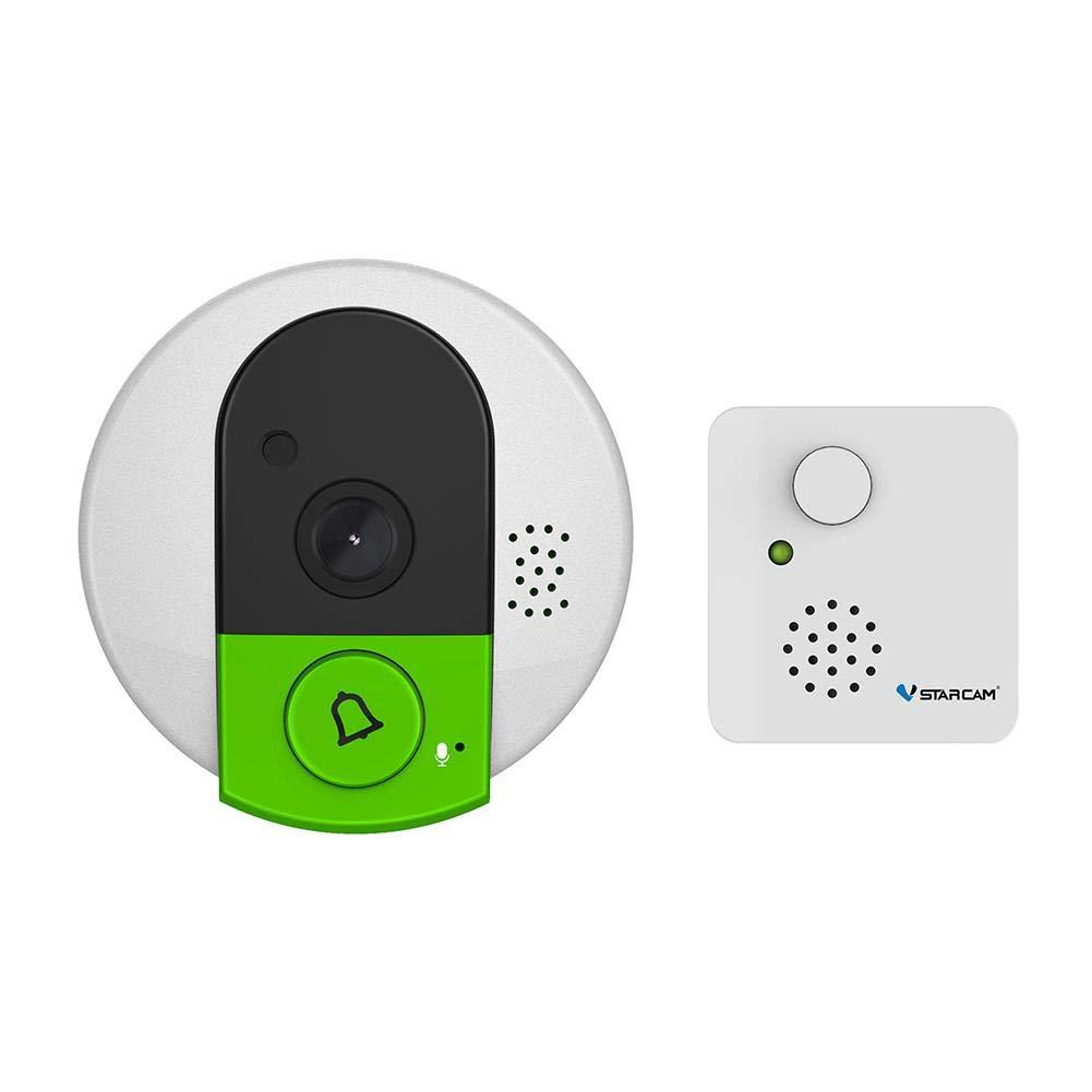 Starnearby Vstarcam C95 + Visual Smart Kamera-Türklingel WiFi Nachtsicht-Türkamera (EU)