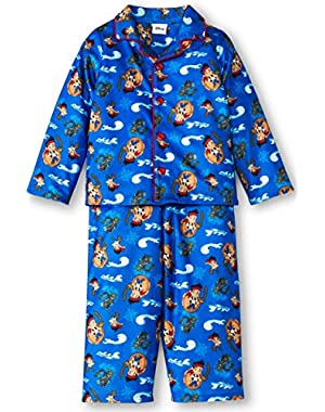 Jake And The Never Land Pirates Toddler Boys Pajama Set Sizes 2T-4T