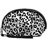 Luxury Divas Leopard Print Makeup Bag