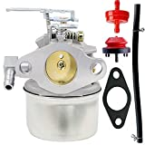 640084B Carburetor for Tecumseh 5HP MTD 632107A 632107 640084 640084A TORO 521 Snow Blower HSSK40 HSSK50 HS50 LH195SA Tecumseh 632107 Carburetor (LH195SA)
