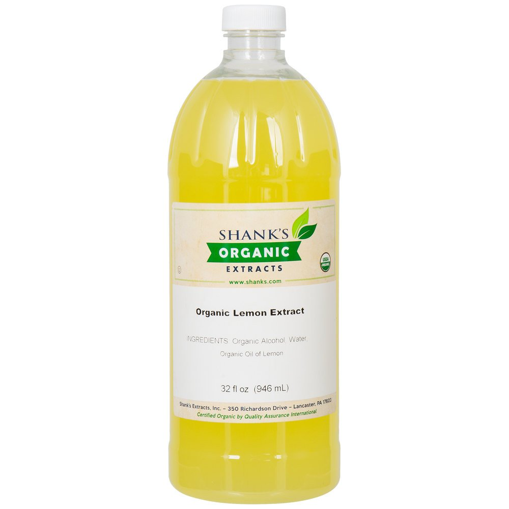 TableTop King Shank's 32 oz. Organic Lemon Extract
