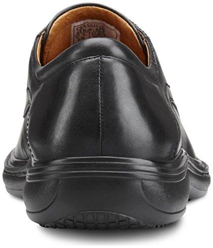 Dr. Comfort Mens Classic Black Diabetic Dress Shoes Black u0bEy