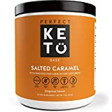 Perfect Keto Salted Caramel Exogenous Ketones: Base BHB Salts Supplement- Ketones for Ketogenic Diet Best to Support Energy, Focus and Ketosis Beta-Hydroxybutyrate BHB Salt