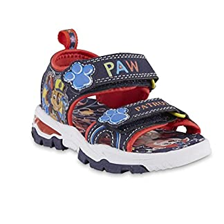 ACI International Nickelodeon Boys Paw Patrol Summer Sport Sandal With Chase and Marshall