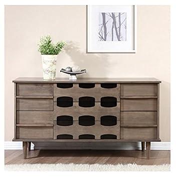 Contemporary Modern Midcentury 7drawer Dresser Parocela 7 Drawer Dresser W65