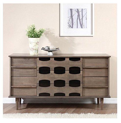 Contemporary Modern Mid-century 7-drawer Dresser 515lyPU1PDL