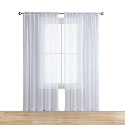 Sheer Kitchen Curtains Amazon Com: Sheer Window Curtains: Amazon.com