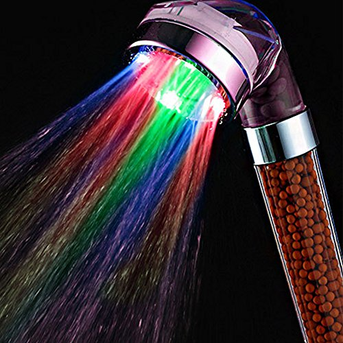 7 color led shower head - 8