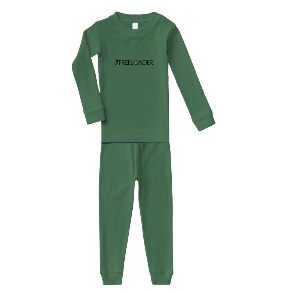 #Freeloader Cotton Long Sleeve Sleepwear Pajama 2 Pcs Set Top and Pant PAJFUNX279