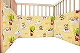 Baby Balloon / SoulBedroom Cotton Cot Bumper Pad Half (210x40 cm)