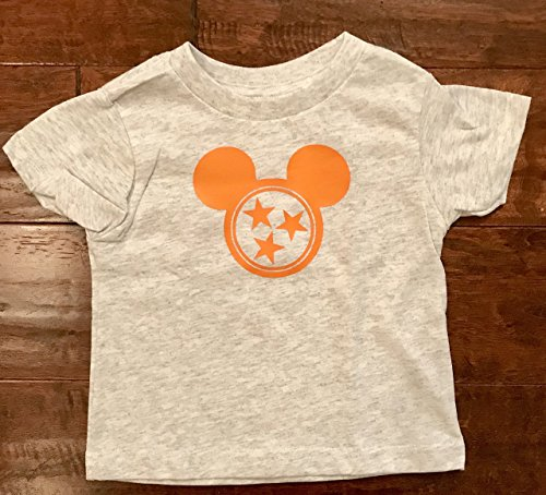 Tennessee Mickey Mouse Shirt - Kid's Sizes by Homegrown Impressions
