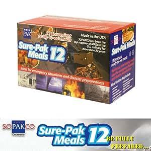 Amazon.com : MRE - APack Ready Meals - 12 Meal Packs