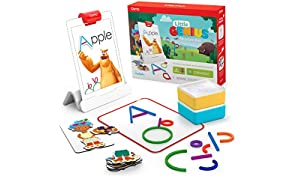 Osmo Little Genius Starter Kit for iPad: 4 Hands-On  Learning Games for Pre-Reading, Problem Solving,  & Creativity (iPad not Included)