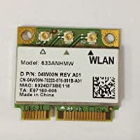 Ultimate-n 6300 AGN Half Pci-e Card 633anhmw USE FOR INTEL 6300 AGN 802.11a/b/g/n 2.4 Ghz and 5.0 Ghz Spectra 450 Mbps Support WIDI