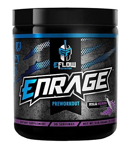EFlow Nutrition ENRAGE preworkout (Ninja Nerds)