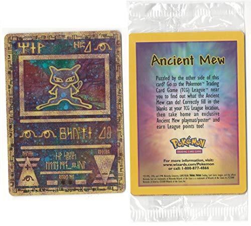 Pokemon Ancient Mew Promo Card Holographic