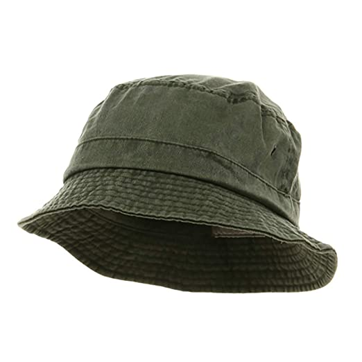 7e0d049bac1 MG Washed Hats-Olive W12S41E at Amazon Men s Clothing store  Bucket Hats