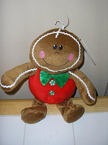 Sugar Loaf Gingerbread Girl Plush Doll Toy - Ginger Loaf