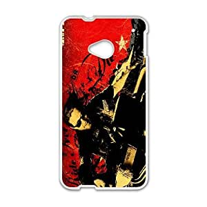 HTC One M7 Phone Case White Sons Of Anarchy HJF685957