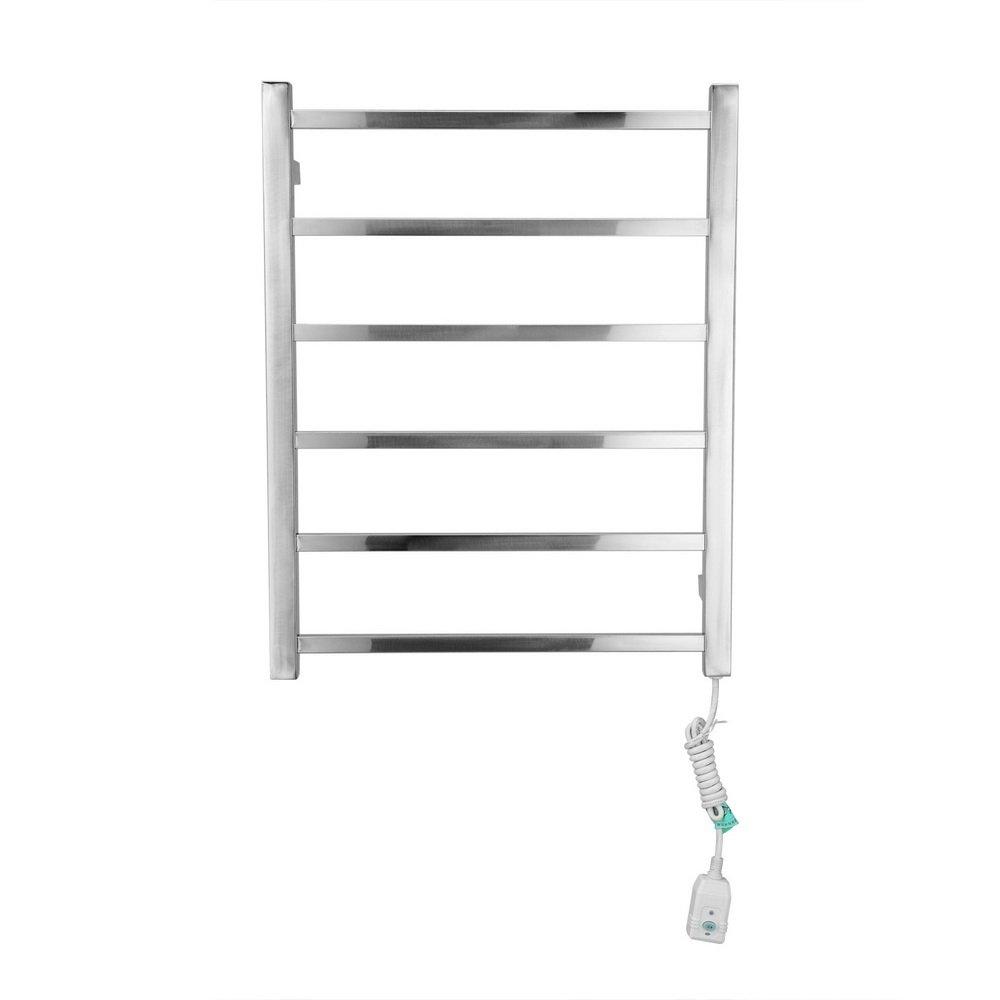 Ltopow- Calentador de Toallas Pared, Toallero Electrico de Acero Inoxidable, Calentador Baño 220-240V: Amazon.es: Hogar