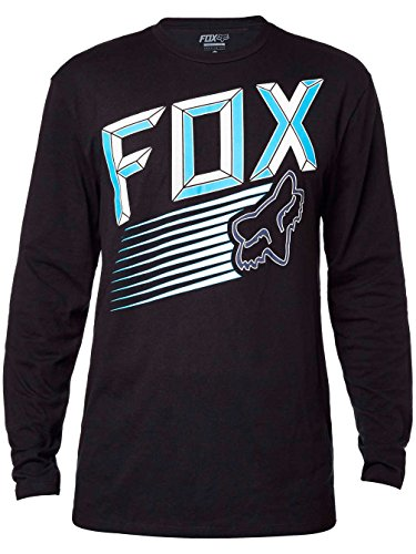 Fox Men's Efficiency LS T Shirt Black M (Fox Racing Clothing For Men compare prices)