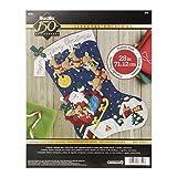 "Bucilla 86740 Felt Applique Stocking Kit, 28"", Christmas Night"