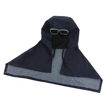perfk Ropa de Soldador Algodón Máscara Protectora Gafas Herramientas Industrial Material Educativo: Amazon.es: Hogar