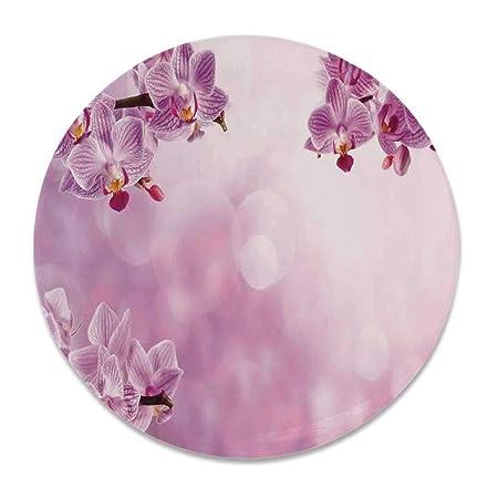 YOLIYANA - Plato Decorativo Redondo de cerámica, diseño de ...